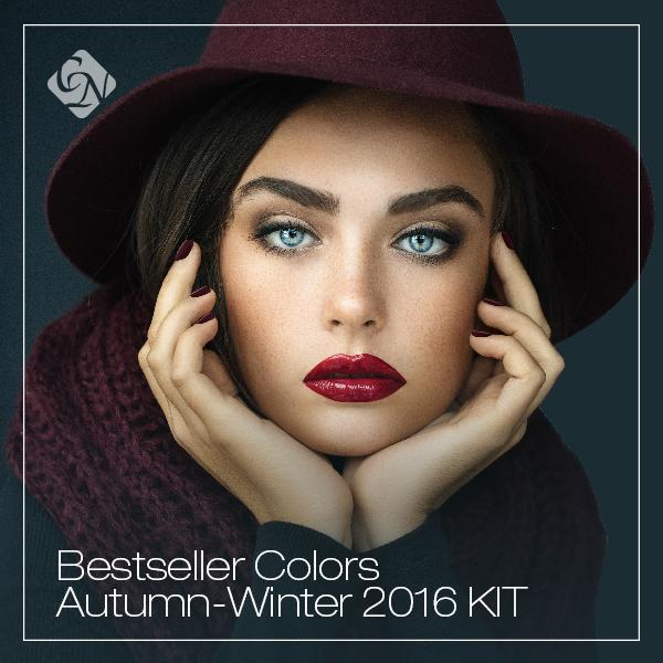 2016 Bestseller Colors Autumn/Winter készletek