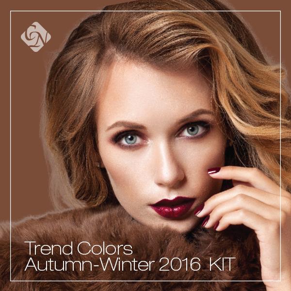 2016 Trend Colors Autumn/Winter készletek