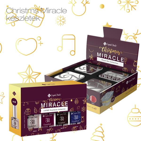 2018 Christmas Miracle készletek
