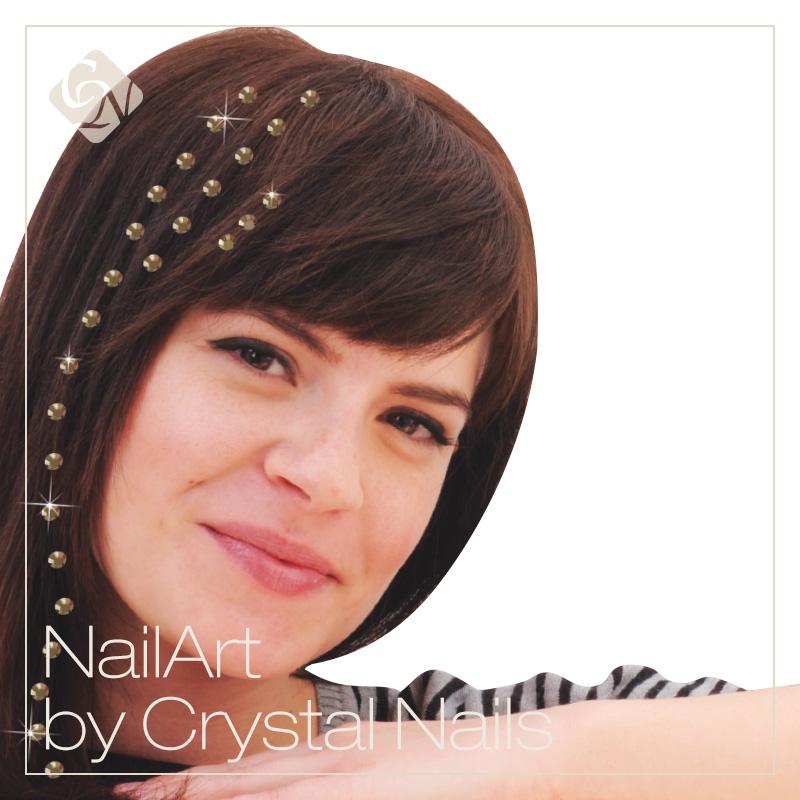 Crystal hajékszer