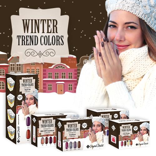 2015 Trend Colors Winter készletek