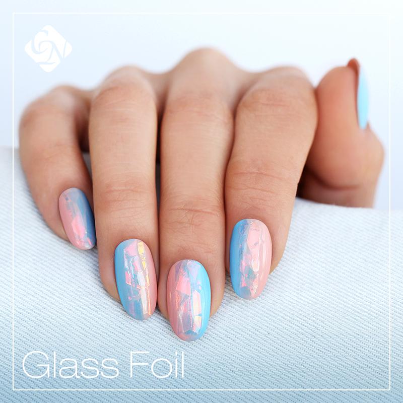 Új! Crystal Nails üvegfólia