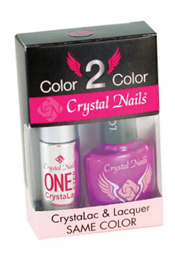 Color 2 Color - ONE STEP CrystaLac és körömlakk készletek