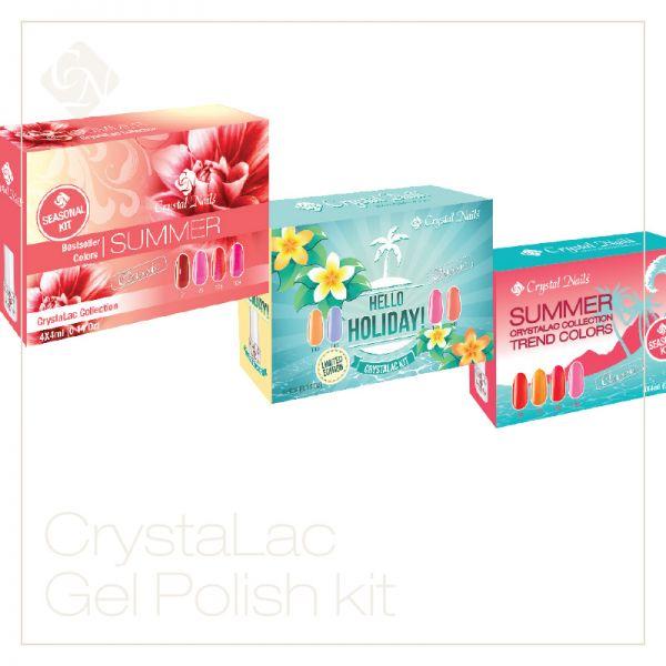 CrystaLac (Gel-Lac) készletek