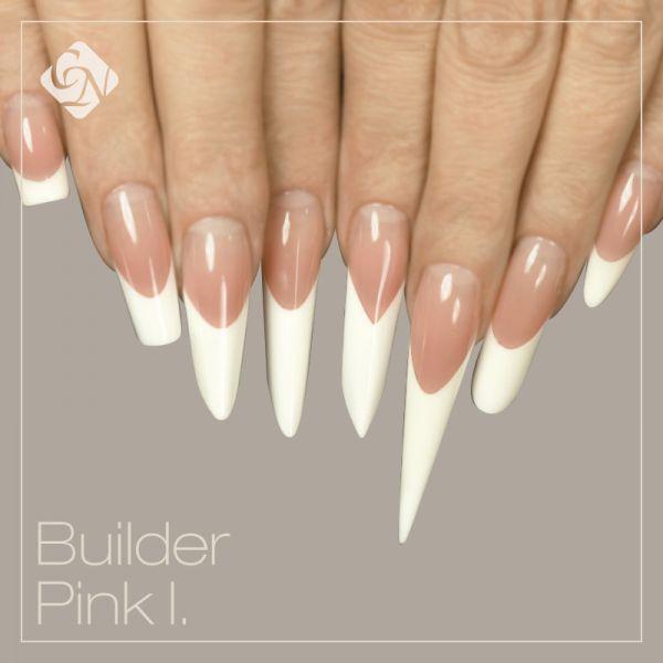 Rózsaszín építőzselék