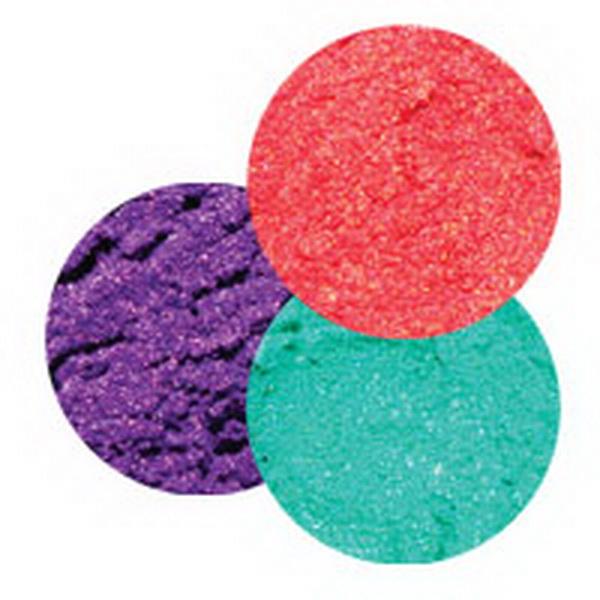 Pigmentporok, Króm- és effektporok